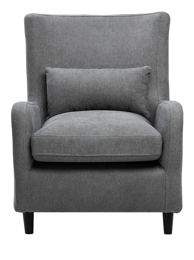Fremont Gray Fabric Accent Chair (3)
