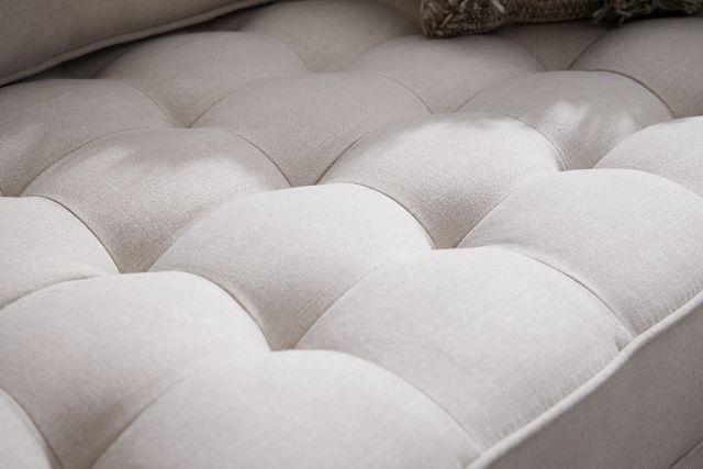 """Eli 90"""" Taupe Micro Sofa (3)"""