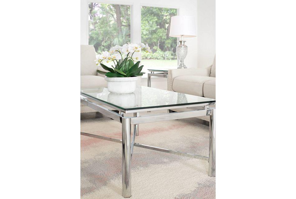 Nova GLASS  Rectangular Coffee Table