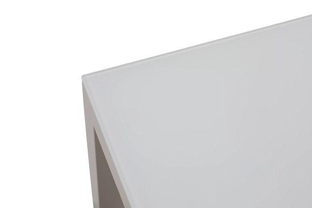 Lisbon3 White End Table (3)