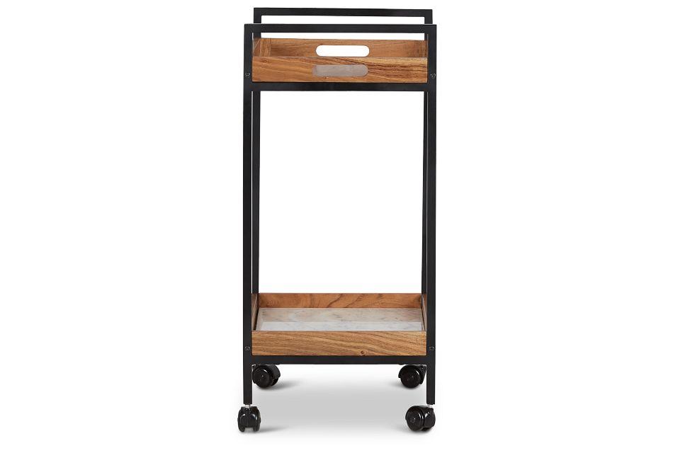 Bea Marble Bar Cart