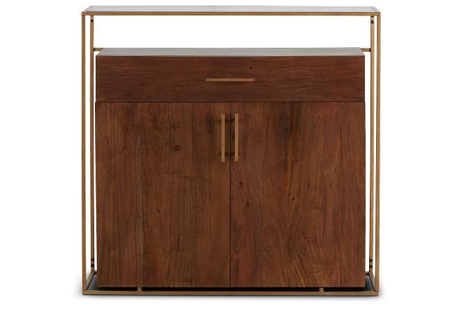 Alexa Dark Tone Wood Bar