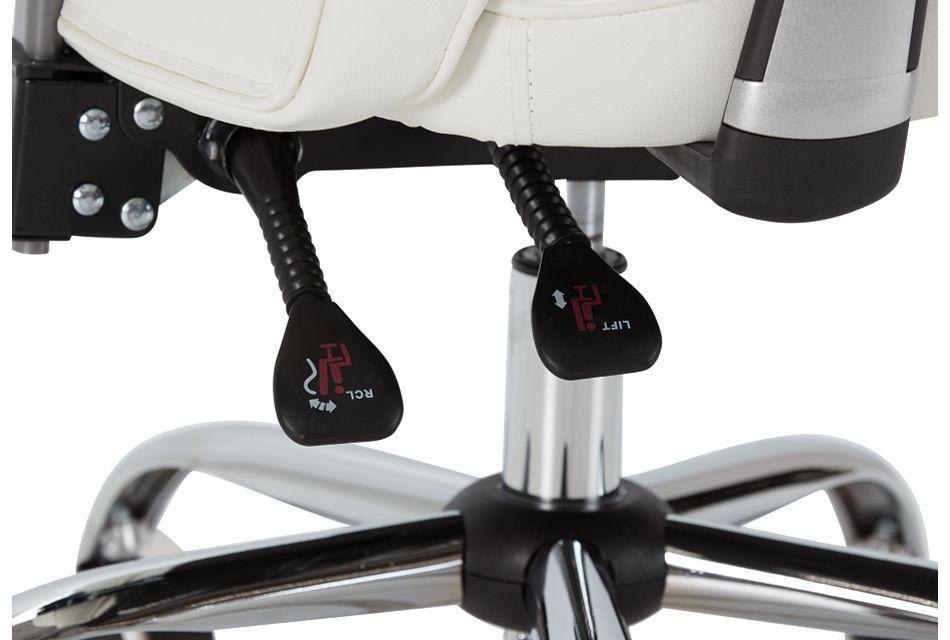 Aurora White Uph Desk Chair