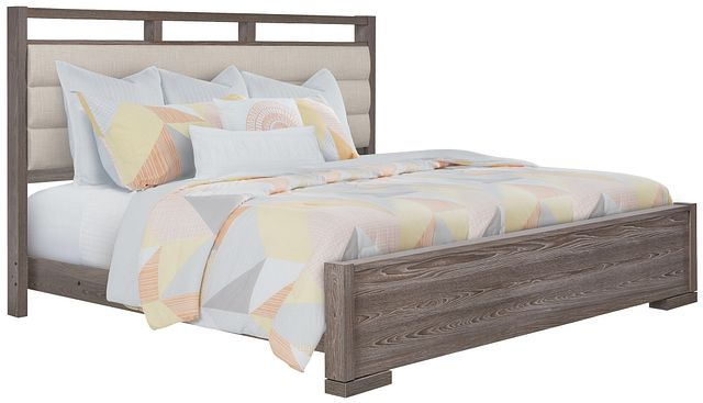 Sutton Light Tone Uph Panel Bed (0)