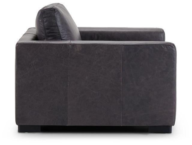 Bohan Black Leather Chair (2)