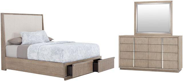 Gramercy Light Tone Uph Platform Storage Bedroom (0)