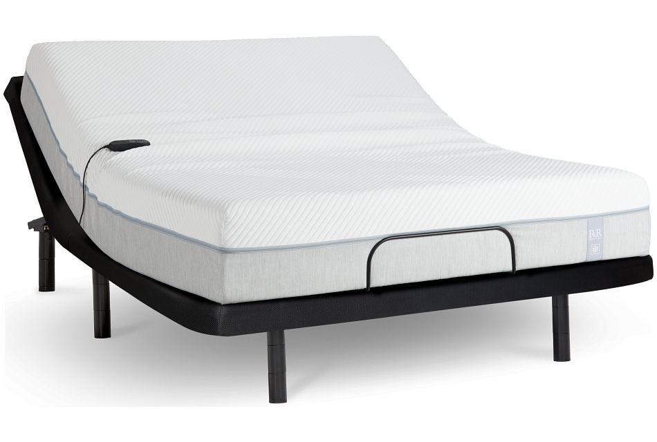 "Rest & Renew Memory Foam 11"" Bronze Adjustable Mattress Set"