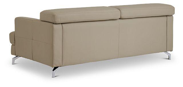 Marquez Taupe Micro Sofa