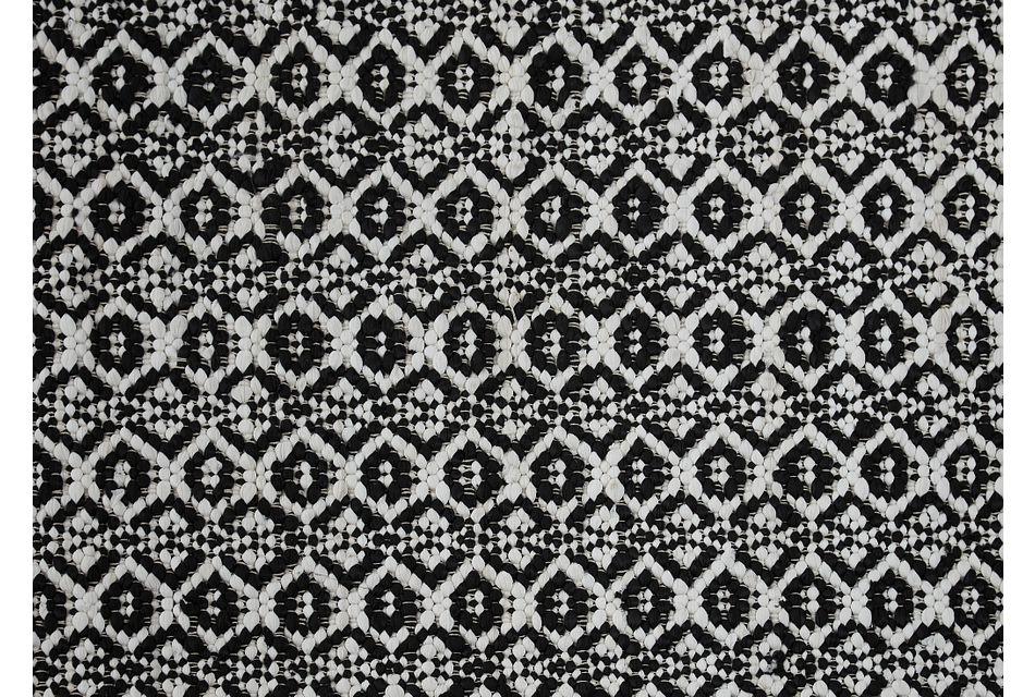 Benoni Black 8x10 Area Rug