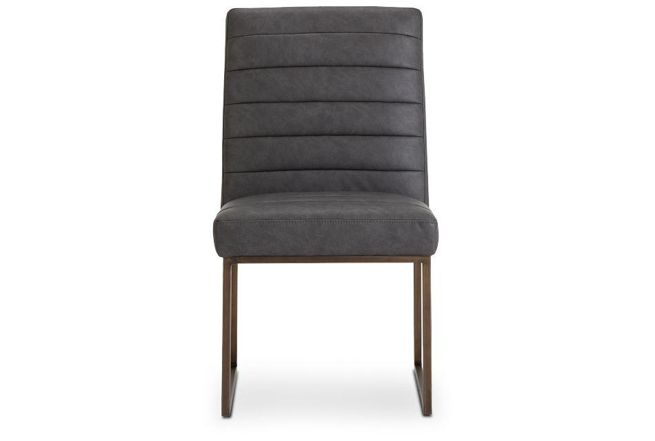 Miller Dark Gray Upholstered Side Chair,  (3)