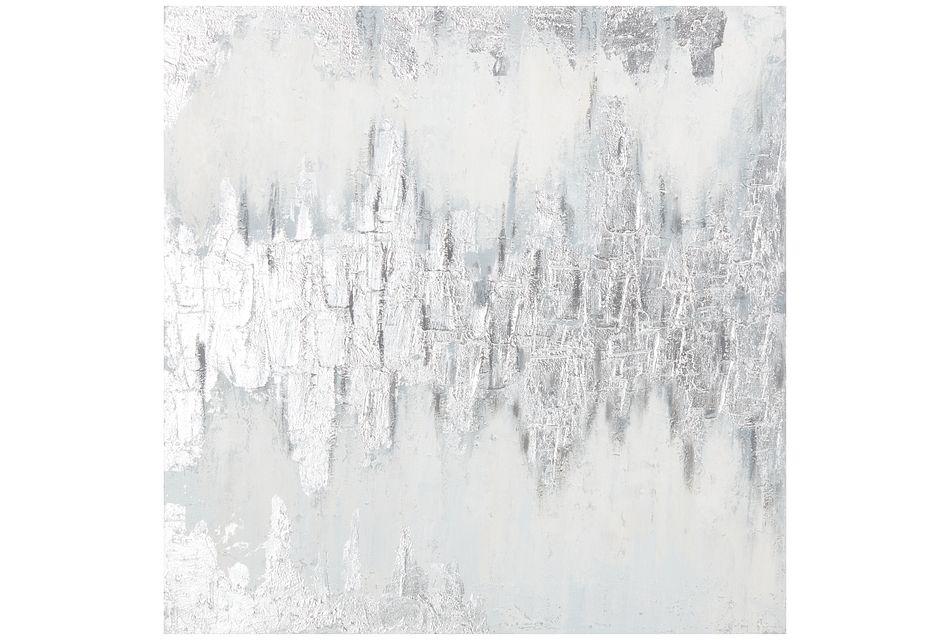 Haze Light Gray Canvas Wall Art