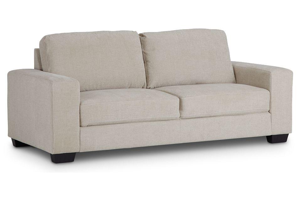 Estelle Beige Fabric Sofa,  (2)