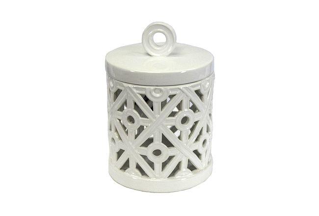 Calla White Medium Jar