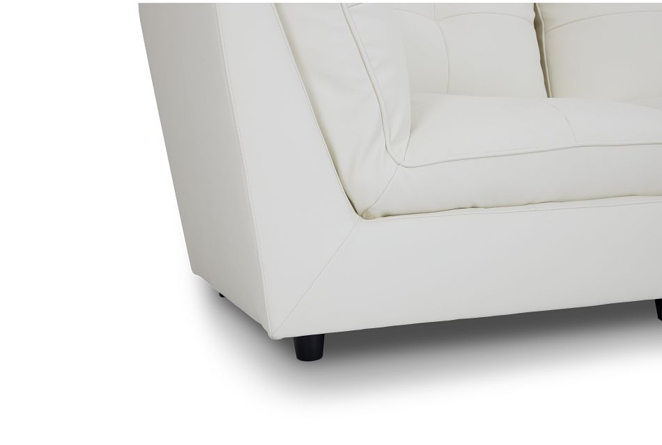 Hudson White Micro 5-piece Modular Sectional