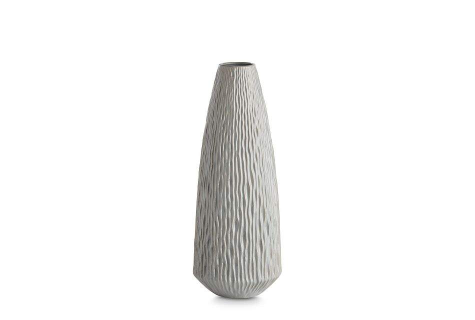 Lyra Medium Gray Vase,  (1)