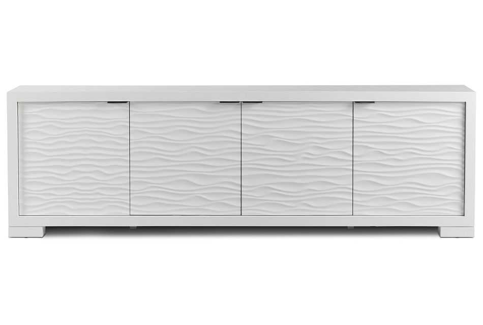 """Ocean Drive White 96"""" Tv Stand"""