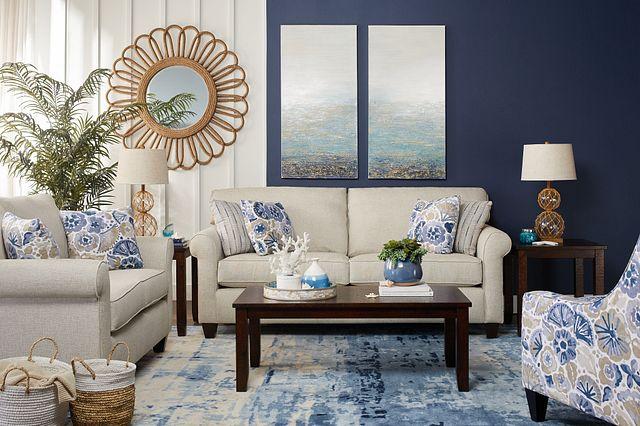 Seafoam Light Blue Canvas Wall Art (1)