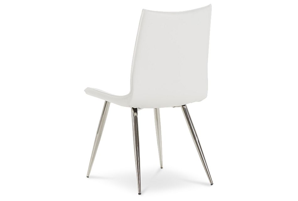 Wynwood White Uph Side Chair