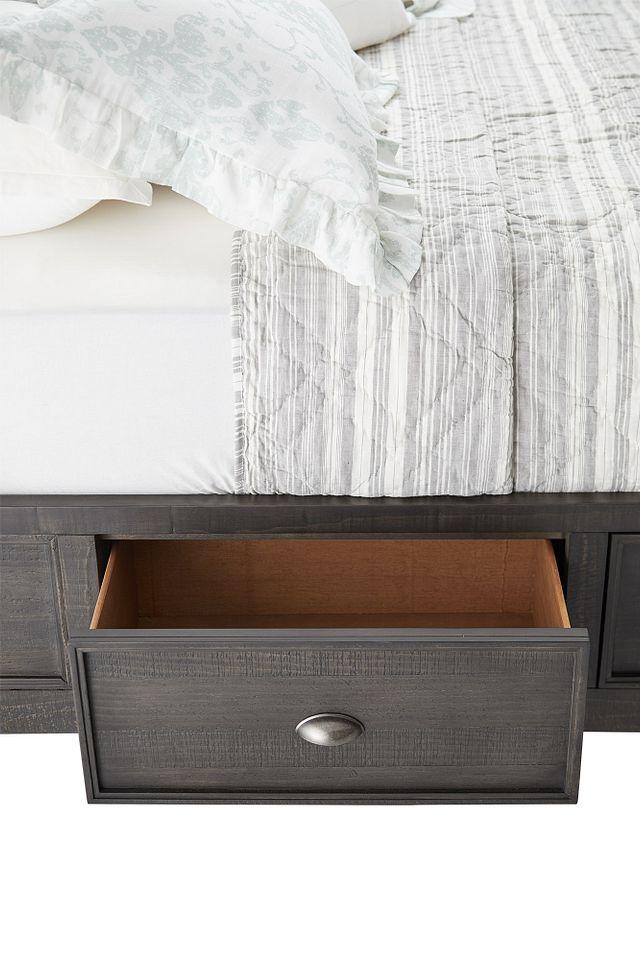 Heron Cove Dark Tone Panel Storage Bed (1)