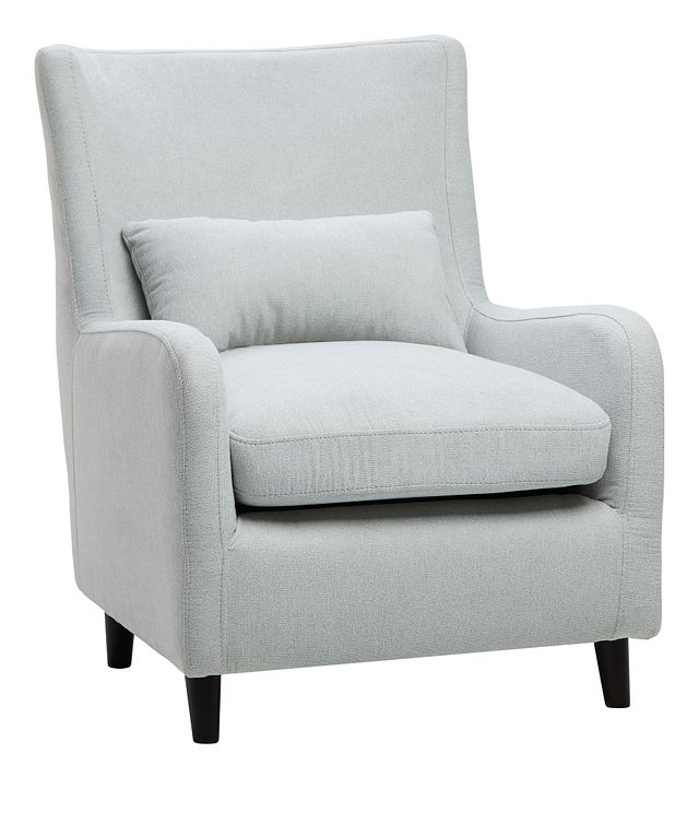 Fremont Light Blue Fabric Accent Chair (0)