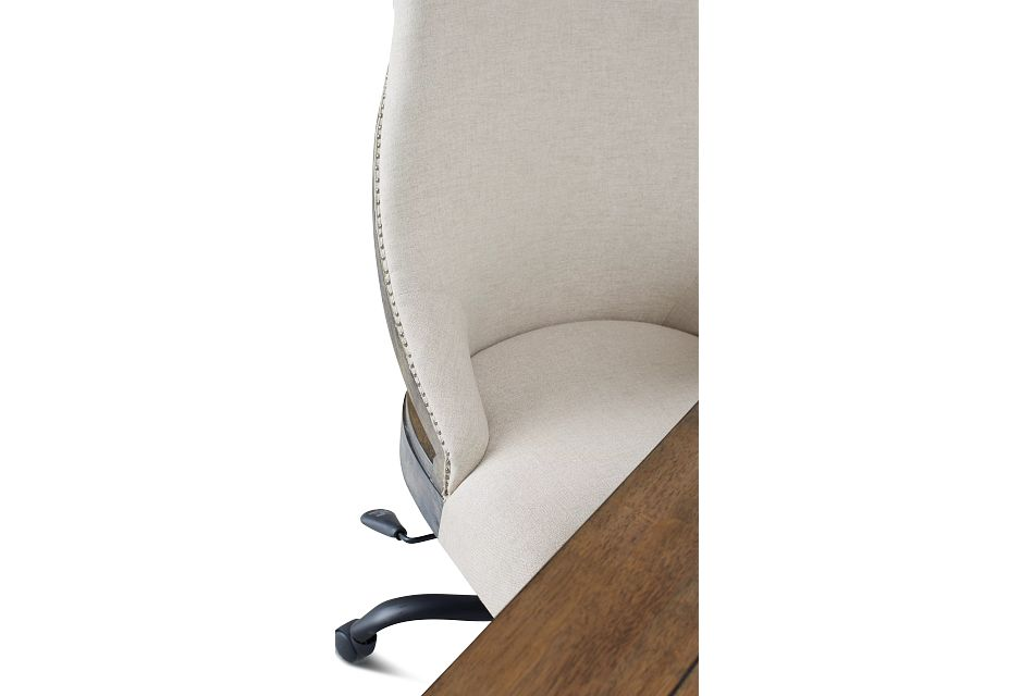 Sumter White Desk And Chair