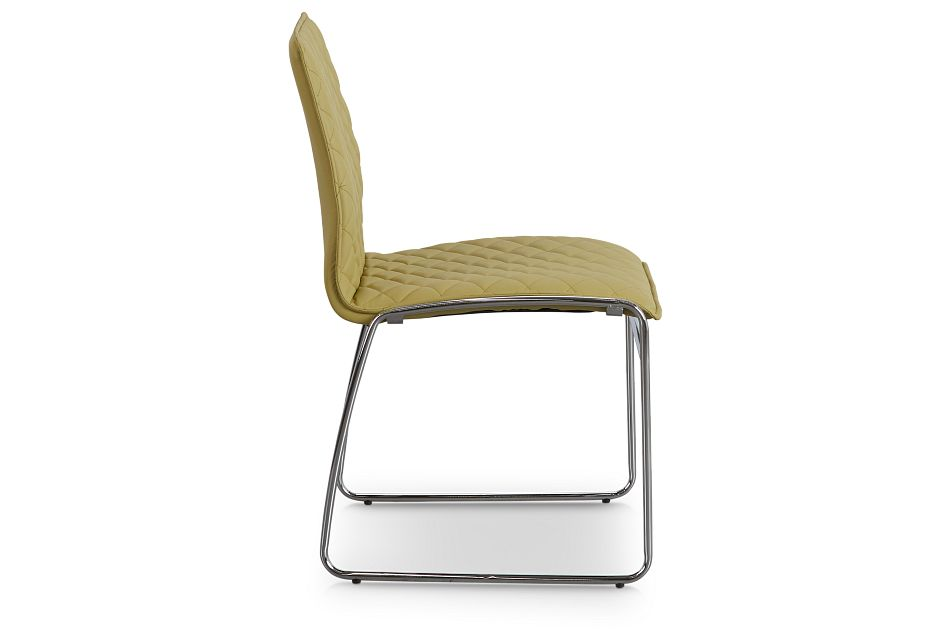 Skyline Light Green Metal Side Chair