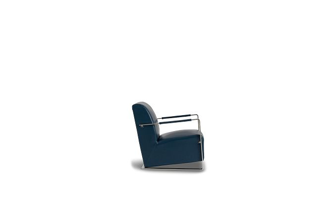 Lee Blue Uph Accent Chair (2)