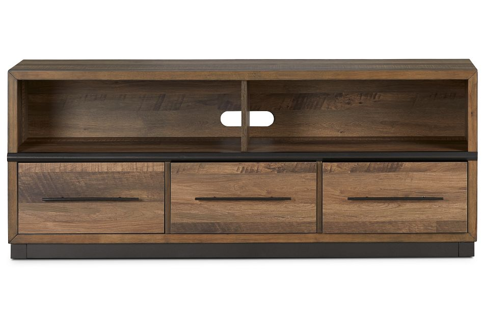 """Boulder 66"""" MID TONE TV Stand,  (1)"""