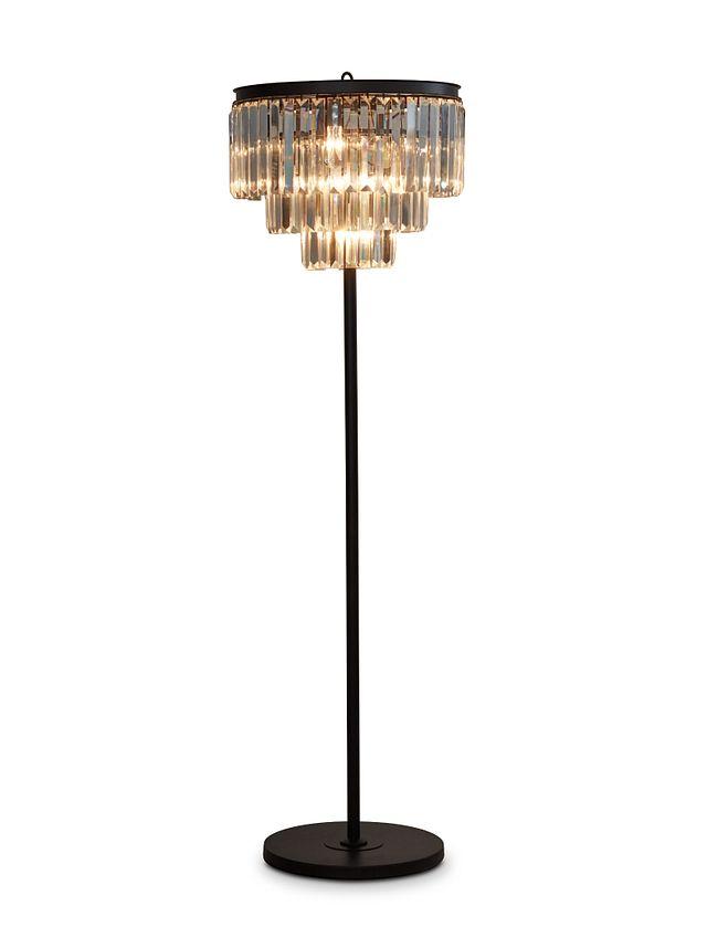 Audrey Black Floor Lamp (1)