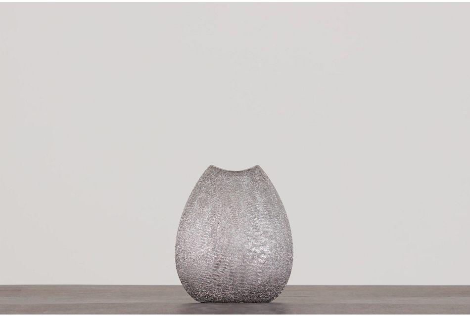 Capella Silver Vase