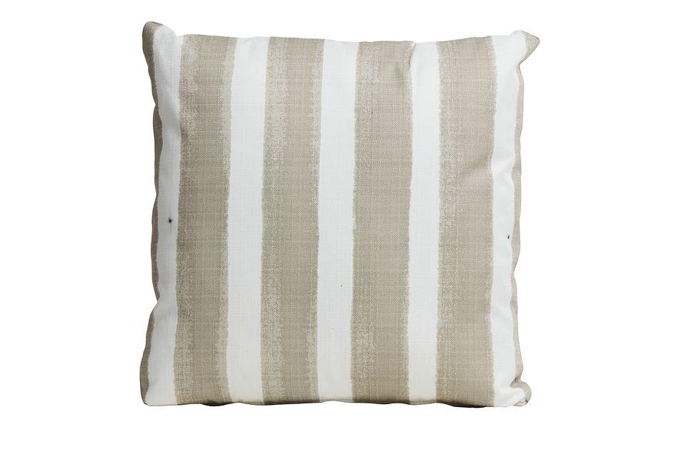 """Nico Light Beige 20"""" Indoor/outdoor Accent Pillow"""