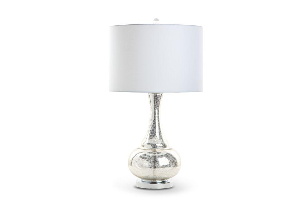 Aviana Silver Table Lamp