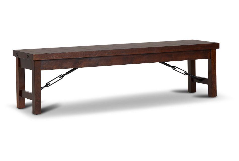 Napa Dark Tone Storage Dining Bench,  (1)