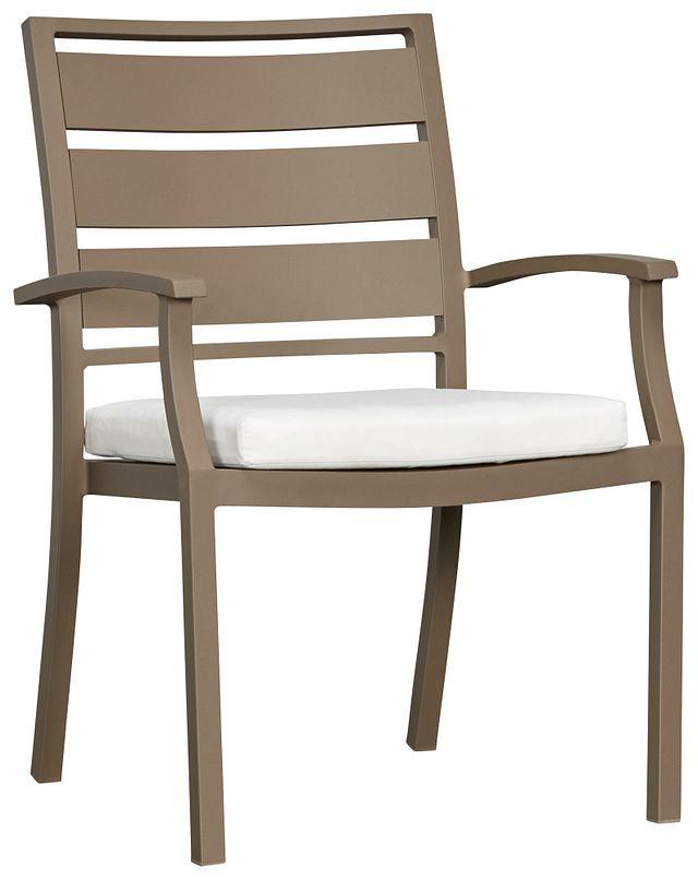 Raleigh White Aluminum Arm Chair (0)