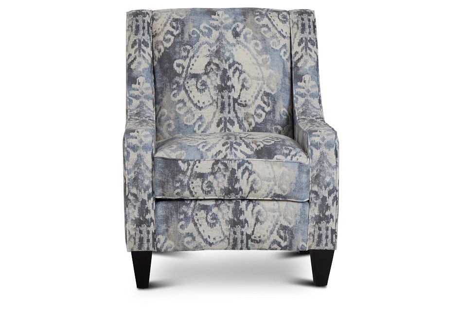 Soledad Gray Fabric Accent Chair,  (3)