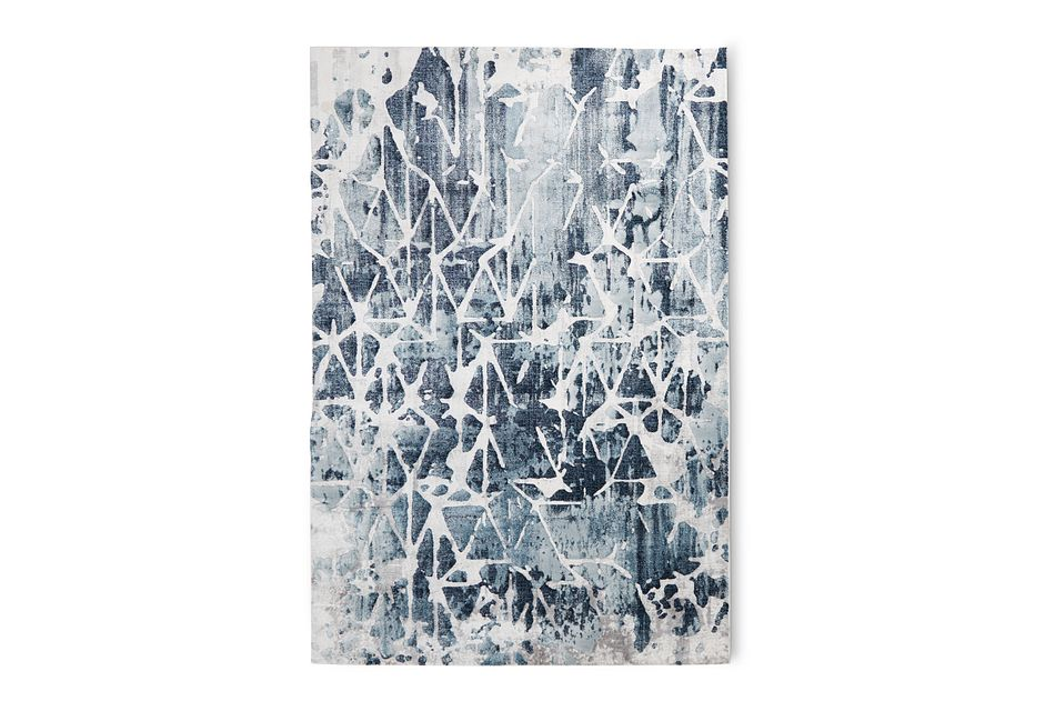 Palmyra Dark Blue 8x10 Area Rug
