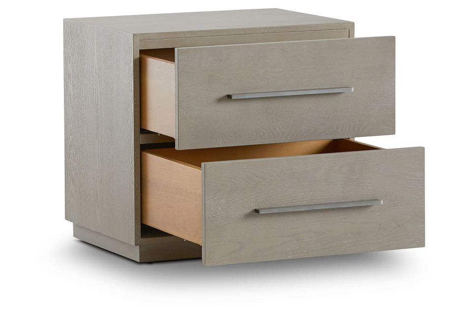 Destination Light Tone 2-drawer Nightstand
