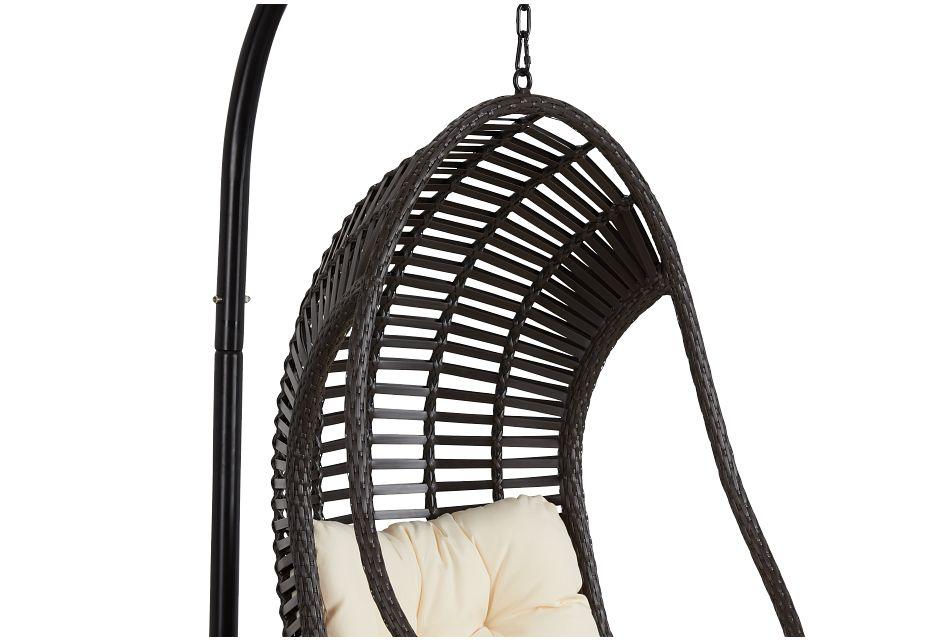 Verano Light Beige Hanging Chair