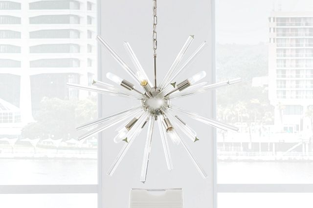 Theodore Clear Chandelier (3)
