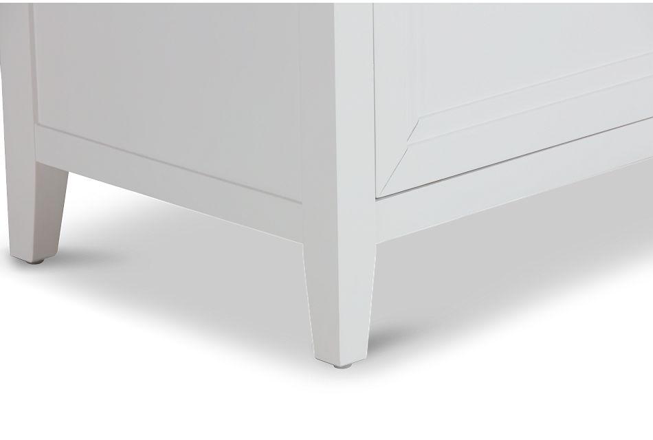 Nantucket White Drawer Chest