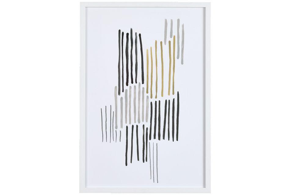 Hazel Gray Framed Wall Art,  (0)