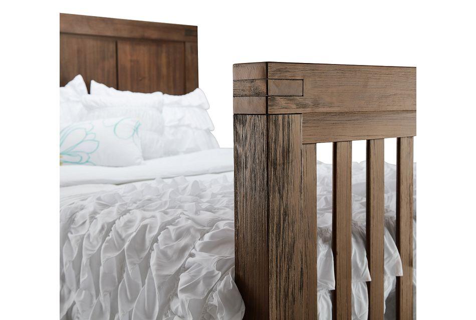 Piermont Mid Tone Panel Bed