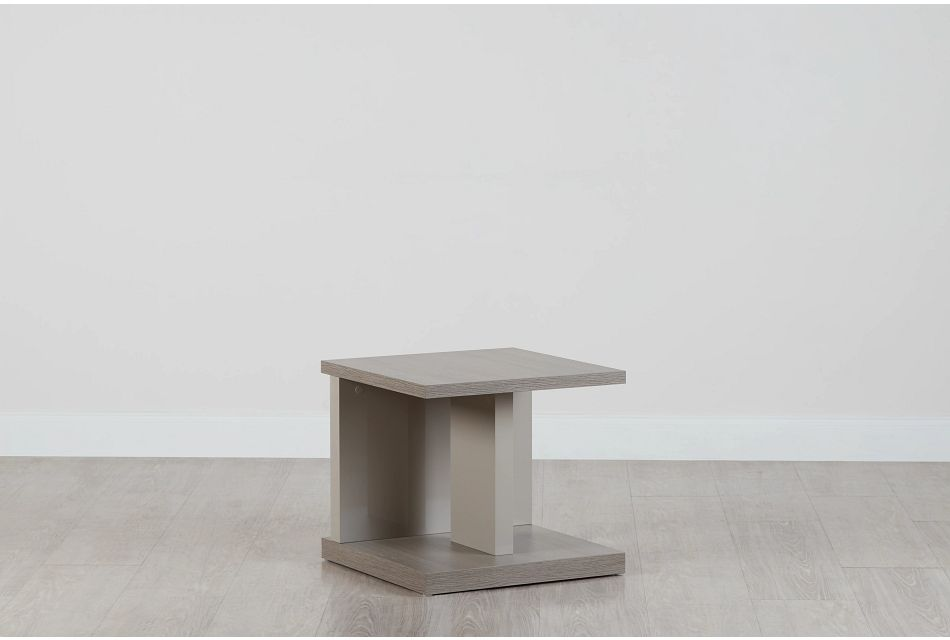 Caelan Light Tone  End Table,  (0)