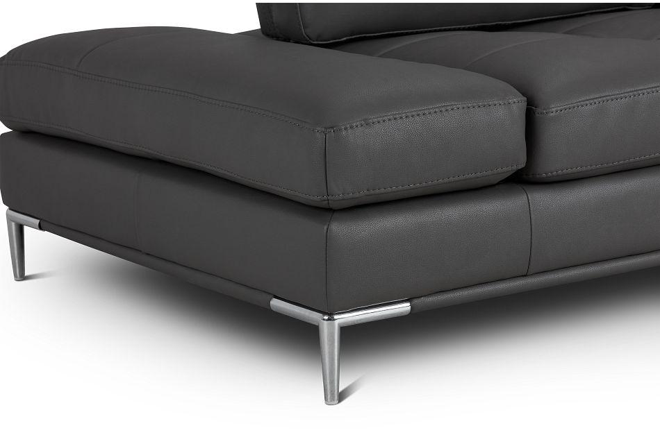 Camden Dark Gray Micro Sofa