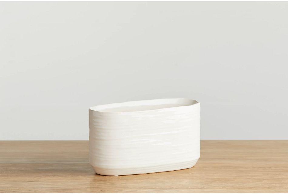 Abree Beige Medium Bowl