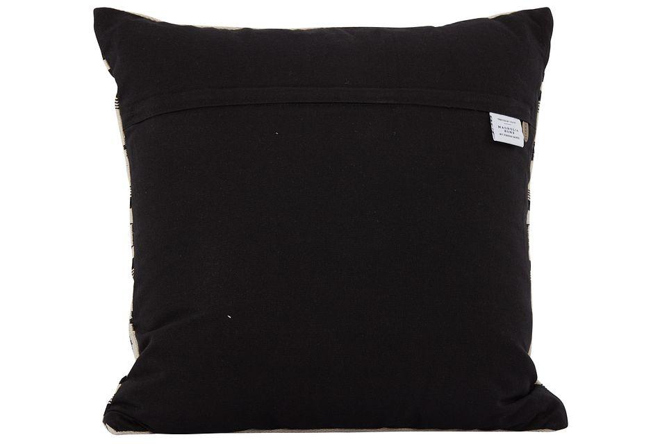 "Alice Black 18"" Accent Pillow"