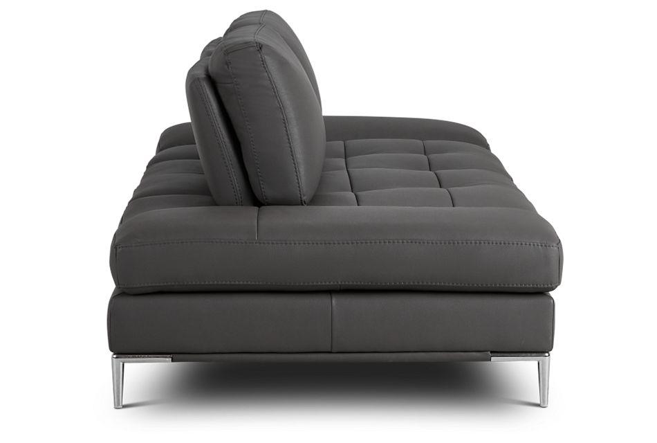 Camden Dark Gray Micro Sofa,  (3)