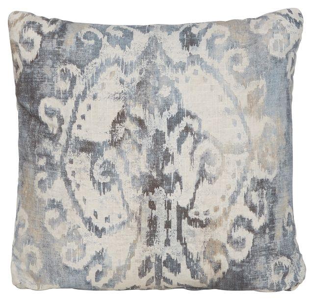 Soledad Gray Fabric Square Accent Pillow (0)