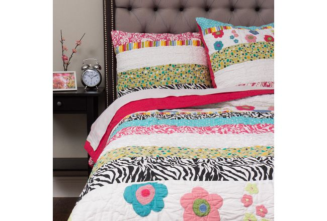 Abby Multicolored Coverlet