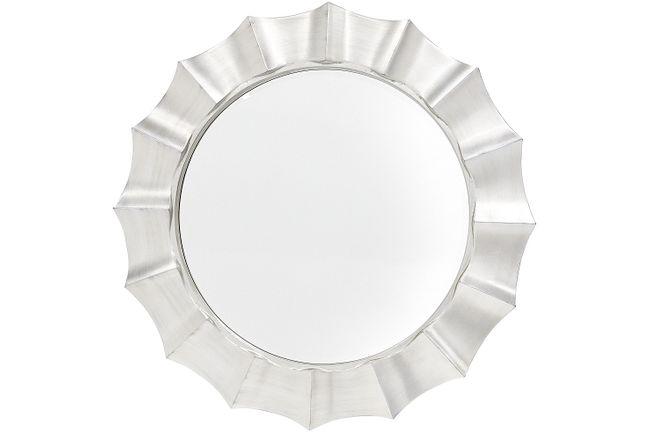 Alegra Silver Mirror
